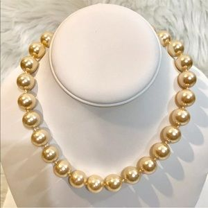 Charter Club Pink Pearl Necklace 16 Inch NEW